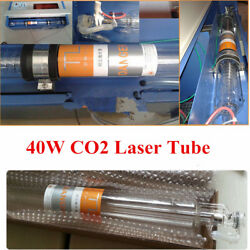 40W Laser Tube CO2 Glass Head Tube D55mm L720mm for Co2 Laser Engraving Cutting