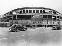 Chicago Cubs Wrigley Field 8x10 Glossy Photo Picture Image 2