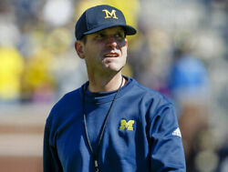 Jim Harbaugh 8x10 Glossy Photo Picture Image 2