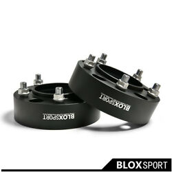 A Pair 2 50mm For Toyota Land Cruiser 79 2017+ Wheel Spacers Pcd5x150 Cb110