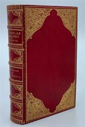 1839 Charles Dickens Nicholas Nickelby First Edition 2nd State Fine Binding Rare
