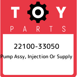 22100-33050 Toyota Pump Assy, Injection Or Supply 2210033050, New Genuine Oem Pa