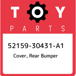 52159-30431-a1 Toyota Cover Rear Bumper 5215930431a1 New Genuine Oem Part