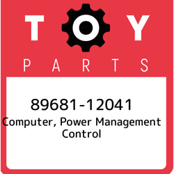 89681-12041 Toyota Computer, Power Management Control 8968112041, New Genuine Oe