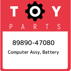 89890-47080 Toyota Computer Assy Battery 8989047080 New Genuine Oem Part