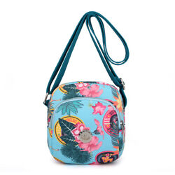 Summer New Women Shoulder Flowers Printing Crossbody Girls Messenger Mini Bags $8.87