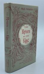 1956 Return Of The King First Edition Lord Of The Rings J.r.r. Tolkien Jacket