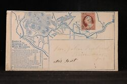 New Hampshire Plymouth 1850s 11 Pemigewasset House Cameo Advertising Cover