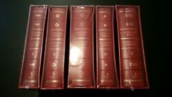 Game Of Thrones Vol 1-5 Limited Deluxeandnbspleatherandnbspslipcase Song Of Ice And Fire Oop