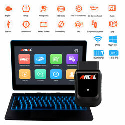 Ancel X5 Pros Wifi OBD2 Tablet Scanner Full System ABS SRS EPB Diagnostic Tool