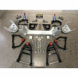 Front End Mustang Ii 2 Ifs Kit For 53-64 Dodge Truck Fits Wilwood And Ssbc Brakes