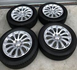 Set Of 2019 Land Rover Range Rover 20 Oem Wheels With Goodyear Tires Included