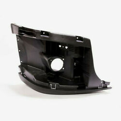 Freightliner Cascadia 08-15 Bumper End Reinforcement With Fog Hole Right Side