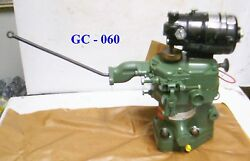 Woodward Governor W/ Bodine Electric Co Motor For Detroit Diesel - P/n 8561-537