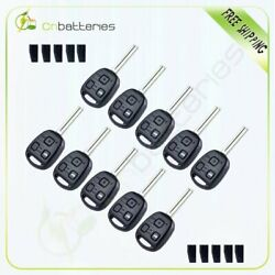 10* Replacement for 2004-2006 Lexus ES330 Key Fob Keyless Entry Uncut Car Remote