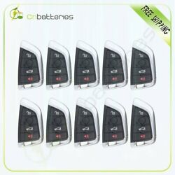 10 New Replacement  for BMW 5 7 Series CAS4 Uncut Keyless Entry Remote Key Fob