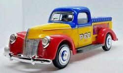 Pez Ford 1940 Model Collector Truck Heavy Metal Die-cast Toy Advertising Golden