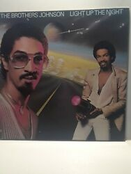 Used 1980 Audiophile Lp Masterpiece Brothers Johnson Light Up The Night