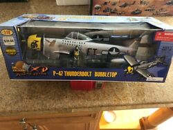 Scale 21st Cent. Ultimate Soldier Usaf P-47 Bubble Top Fighter Plane Ww2 1/18