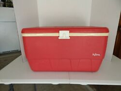 Vintage Igloo Cooler Red 32 Quart Ice Chest $20.00