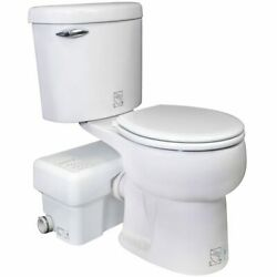 Liberty Pumps Ascentii-rsw - 1/2 Hp Complete Toilet Macerator System Round B...