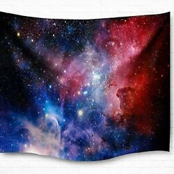 Galaxy Tapestry Wall Hanging Starry Night Blanket Space Starry Sky Wall Tapestry