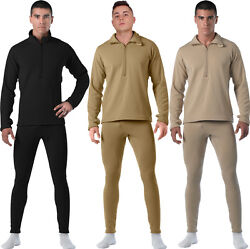 Rothco Gen Iii Level Ii Tactical Anti-microbial Military Thermal Underwear