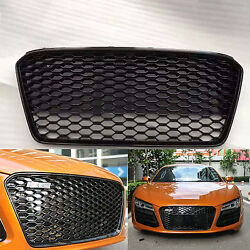 Special Front Grille Gloss Black Mesh Grill Front Grille For Audi R8 2013-2015