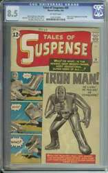 TALES OF SUSPENSE #39 CGC 8.5 OW PAGES