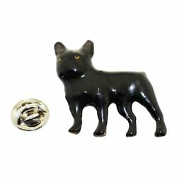 French Bulldog Pin Hand Painted Lapel Pin
