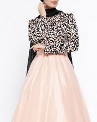 Brand New Evening Dress Abaya Eid Fashion Designer Misses Long Dress Prom