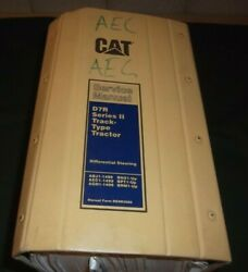 Cat Caterpillar D7r Tractor Dozer Series Ii Service Shop Repair Book Manual
