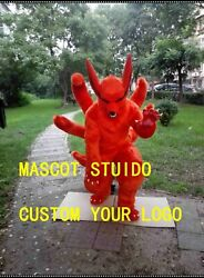 Fox Mascot Costume Cosplay Party Game Dress Outfit Advertising Halloween Adult