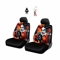 New Harley Quinn Car Truck Suv Seat Cover Accessories Set For Volkswagen