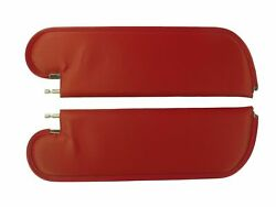 1971-1972 Olds Cutlass 1-pin Sun Visors, Non-perforated Pattern,12 Colors,pair