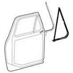 1973-79 Ford F Series And 78-79 Bronco Vent Window Weatherstrip Seal Kit 2pcs. L/r