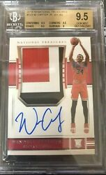 WENDELL CARTER JR 2018 National Treasures Rookie Patch Auto BGS 9.5 99 RPA RC !