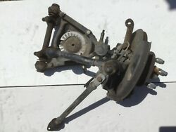 Right Side Front Suspension Off A 1981 Alfa Romeo Spider —t2–