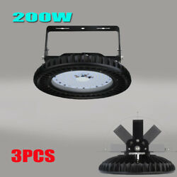 3X 200W UFO LED High Bay Light Warehouse Factory Commercial Shed  Fixture
