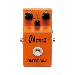 Ibanez Od850 Classic Overdrive Pedal, New