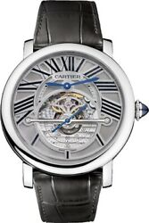 Rotonde de Cartier Astroregulateur Titanium Men's Watch
