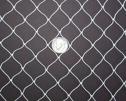 7and039 X 12and039 Baby Poultry Net Game Bird Aviary Nets 1/2 Mesh 139 Lightweight