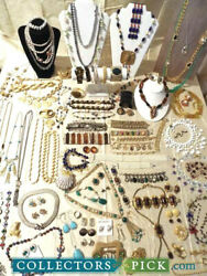 FABULOUS High End Designer Jewelry Lot M.Haskell YSL Hobe Juliana Trifari etc...
