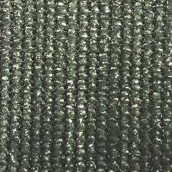 Riverstone Privacy Cloth with Grommets Green 7.8ftx150ft  88% Shade Protection