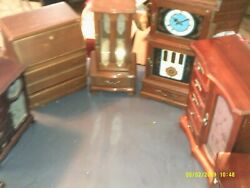 Lot Of 12 Wooden Old Jewelery Box Boxes Some Musical Refurbish Projects
