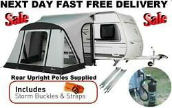 New + Rear Uprights 2021 Dorema Quick And N Easy Up 265 Air Caravan Porch Awning