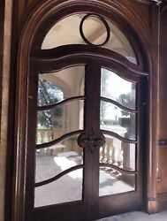 Arched French Doors With Transom In Frame Le Belvedier Bella Gigi Hadid