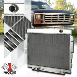 Aluminum 3 Row Core Performance Radiator For 83-94 Ford F250/f350 6.9/7.3 Diesel