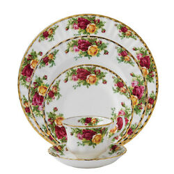 Royal Albert Old Country Roses 20pc Set Service For 4