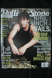 Rolling Stone Magazine Oct 1999 Issue 823 Nin Nine Inch Nails Fall Album Preview